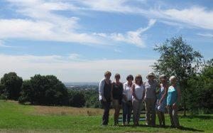 Picnic in Bedford's Park.